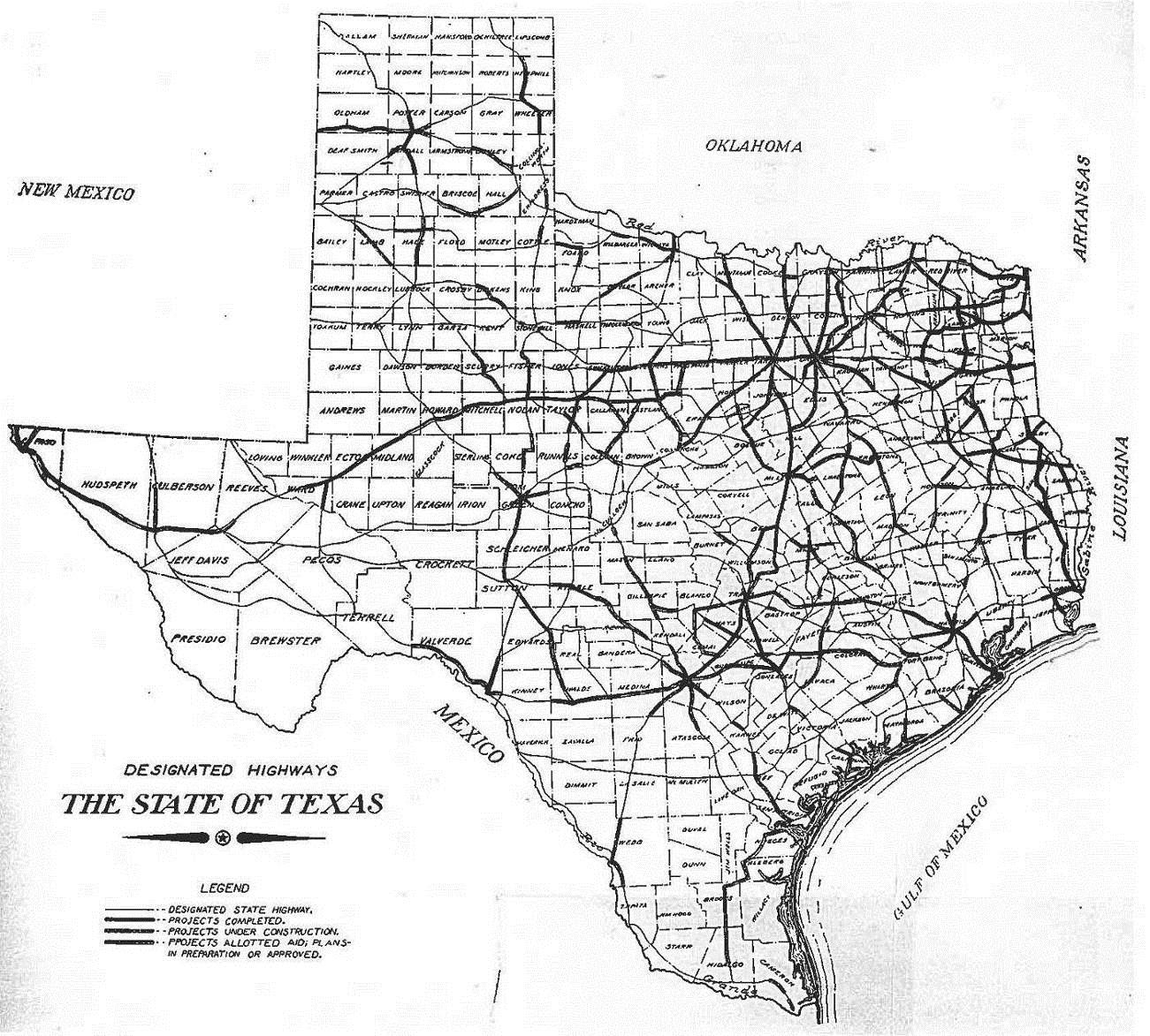 Texas Highway Department Thc Texas Gov Texas Historical Commission