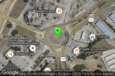 Roundabout Circle Rd Us 77 Waco Thc Texas Gov Texas