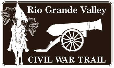 Rio Grande Valley Civil War Trail sign