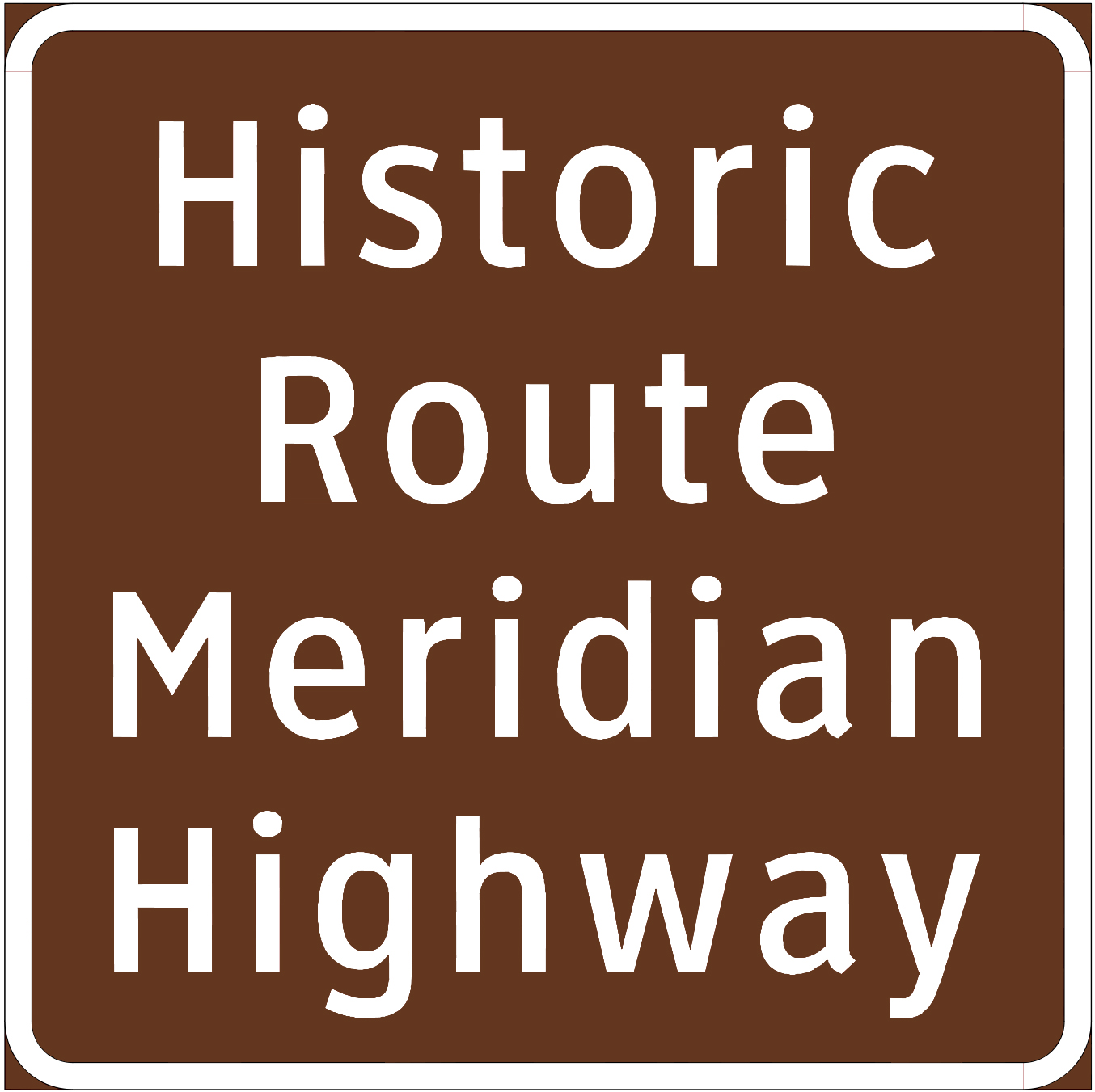 Route Identification Signs Principally Identify Road Alignments Along The Length Of Historic Texas Highway That Has Been Designated As