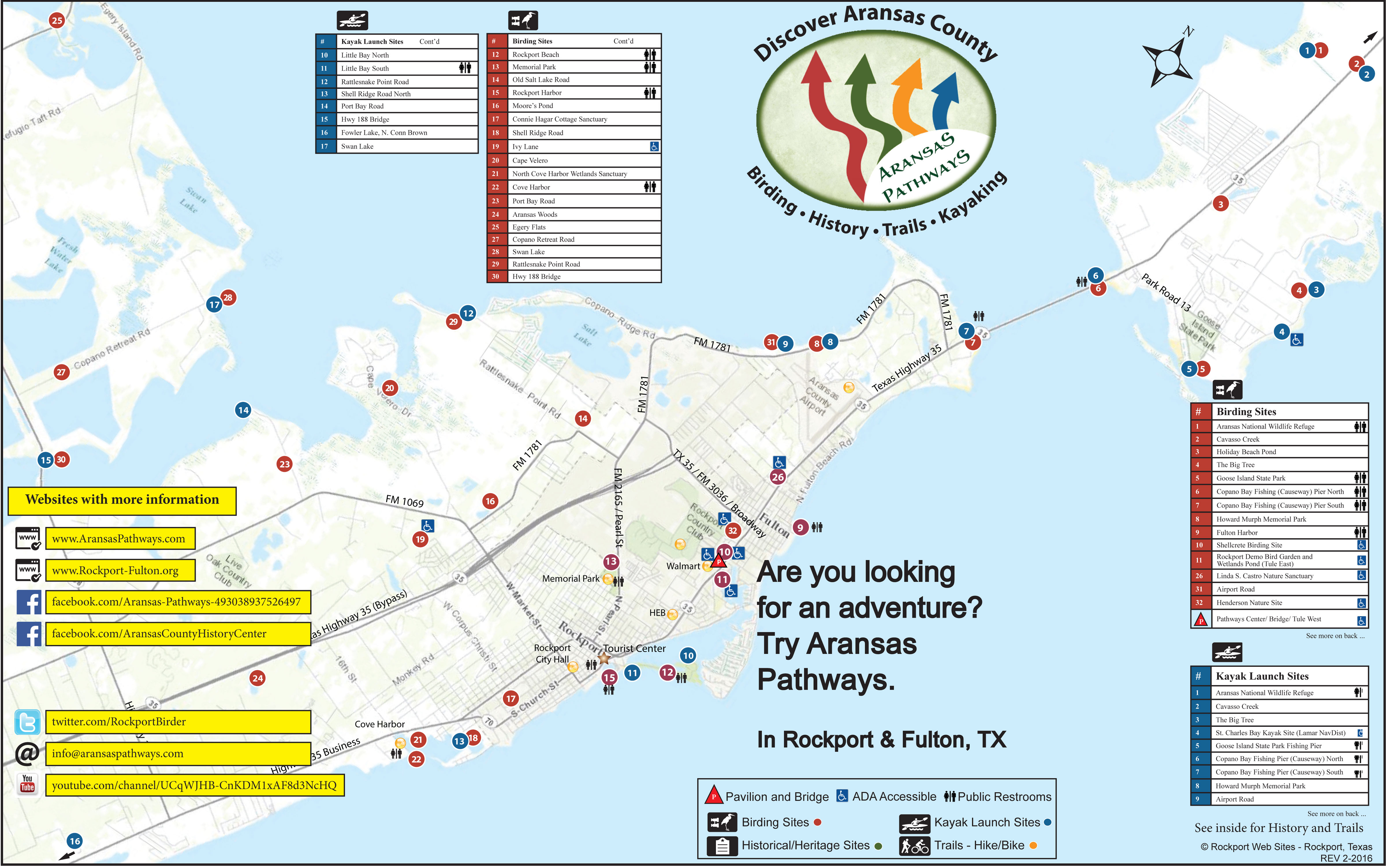 Aransas Pathways map
