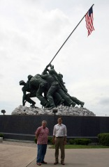 Iwo Jima Monument in Harlingen