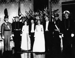 Medibel and Sam Rayburn with Mamie and Dwight Eisenhower