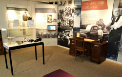 Permanent exhibit at the Sam Rayburn House visitors center