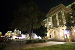 Williamson County Courthouse and square, Georgetown