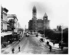 Bexar County Courthouse, circa 1895.