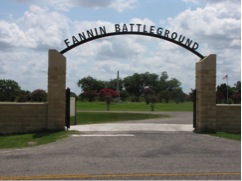 Fannin entry gate today