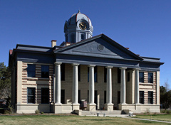 Jeff Davis County Courthouse after restoration.