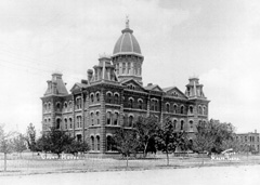 Presidio County Courthouse, circa 1920.
