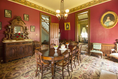 Starr's dining room after preservation.