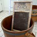 Dubl Handi washboard at the Sam Rayburn House