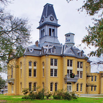 Restored Newton County Courthouse