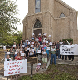 This Place Matters campaign, Texas Historical Commission Library, Austin.