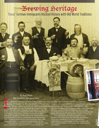 """Brewing Heritage"" travel article from The Medallion."