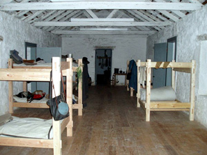 The barracks at Fort McKavett were once again home to the members of the 8th U.S. Infantry.