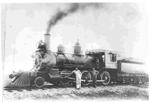 The engine in this photo is the sister engine #109 to the George W. Fulton, Jr. engine.