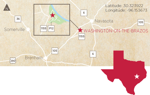 Washington-on-the-Brazos State Historic Site | THC.Texas.gov ...