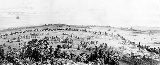 Image of early Castroville.