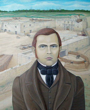William B. Travis and the Alamo by Mark Barnett.