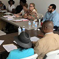Houston Emancipation Avenue Main Street stakeholders met with Texas Main Street Program and Town Square Initiative staff