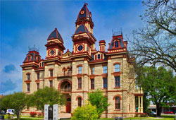 Preserving a Texas historic county courthouse helps maintain a community's unique identity