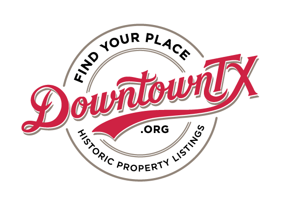 The DowntownTX.org logo