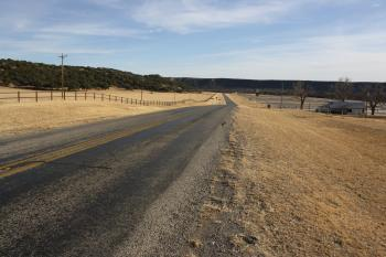 State Highway 16 in Palo Pinto County