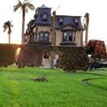 Fulton Mansion after Hurricane Harvey