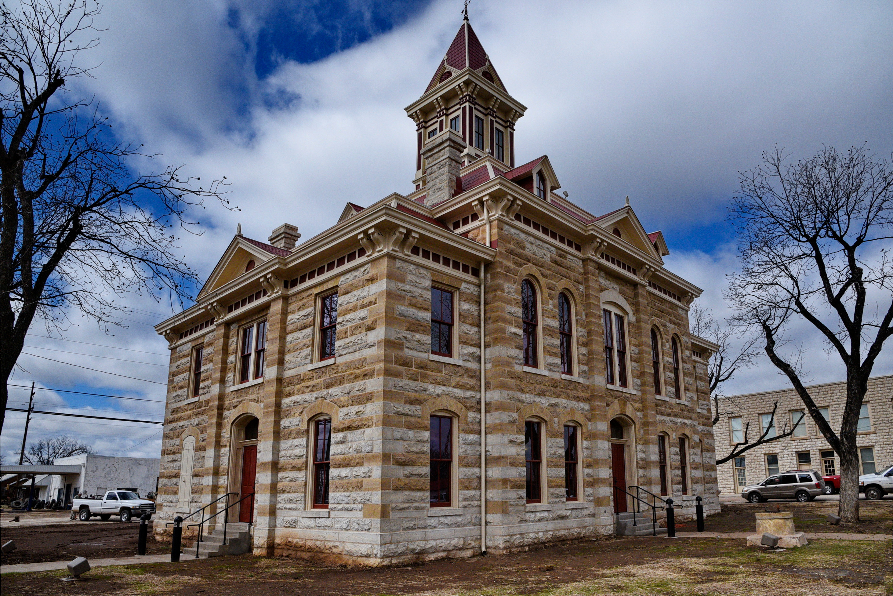 Throckmorton County Courthouse Throckmorton Thc Texas