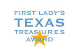 Since 2009, the Texas First Lady, acting as honorary chair, in partnership with the Texas Historical Commission has honored communities demonstrating a high level of creativity and ingenuity in recognizing and preserving their authentic Texas sense of place.