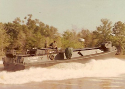 Vietnam-era prototype armored river landing craft