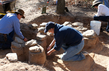 Archeologists find and help preserve historic objects