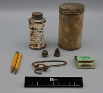 Artifacts from the Texas Parks and Wildlife Department Archeological Collections