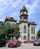 after restoration, Bosque County Courthouse