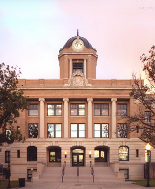 Restored Cooke County Courthouse