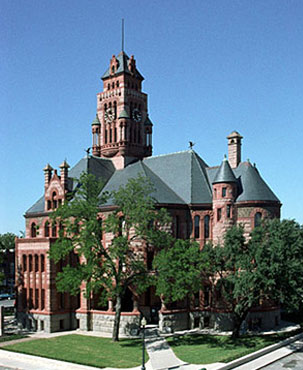 Restored Ellis County Courthouse