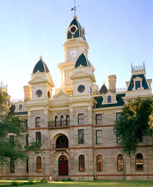 Restored Goliad County Courthouse