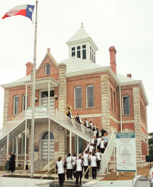 Restored Grimes County Courthouse