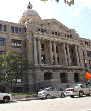 Restored Harris County Courthouse