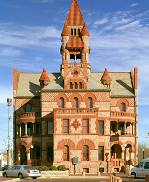 Restored Hopkins County Courthouse