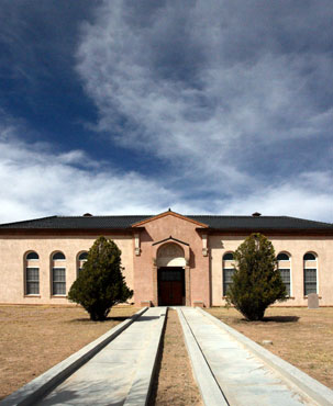 Restored Hudspeth County Courthouse