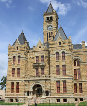 Restored Lavaca County Courthouse
