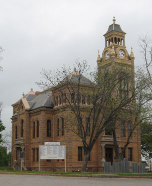 Restored Llano County Courthouse