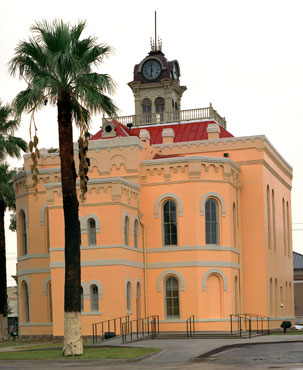 Restored Maverick County Courthouse