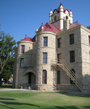 Restored McCulloch County Courthouse