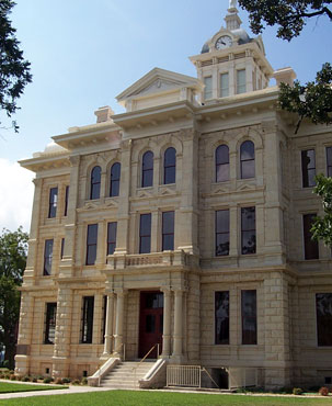Restored Milam County Courthouse