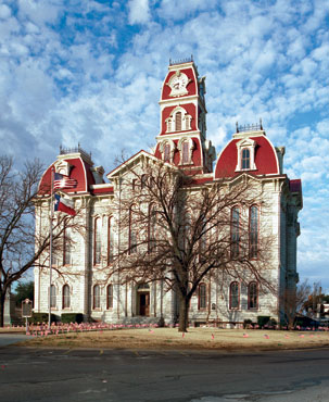 Restored Parker County Courthouse