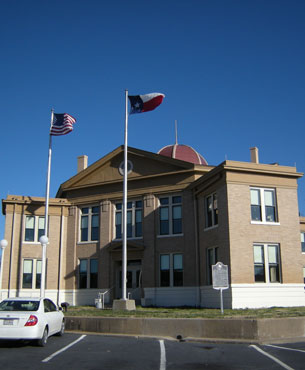 Restored Rains County Courthouse