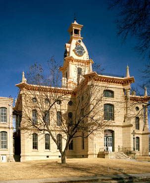 Restored Red River County Courthouse