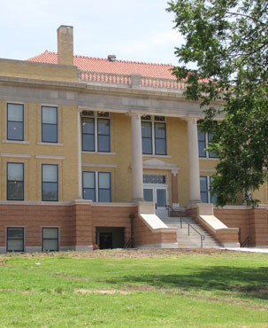 Restored Roberts County Courthouse